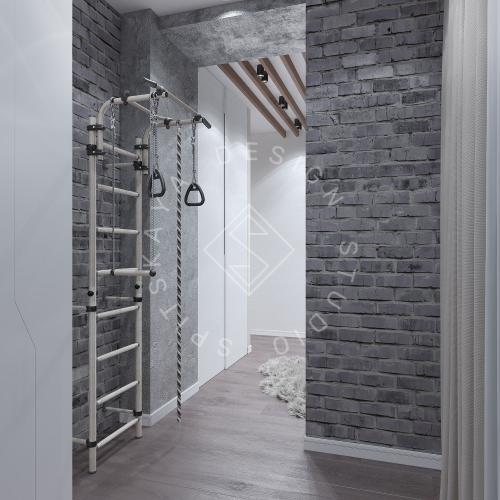 Дизайн интерьера квартиры в ЖК Comfort City Lux - 26