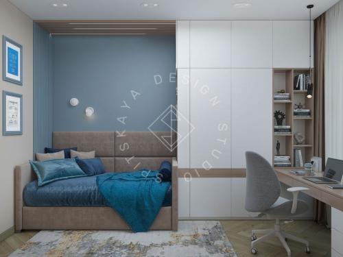 Дизайн проект интерьера жилого дома - 25