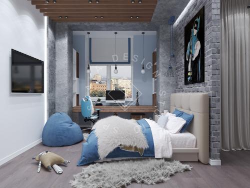 Дизайн интерьера квартиры в ЖК Comfort City Lux - 28