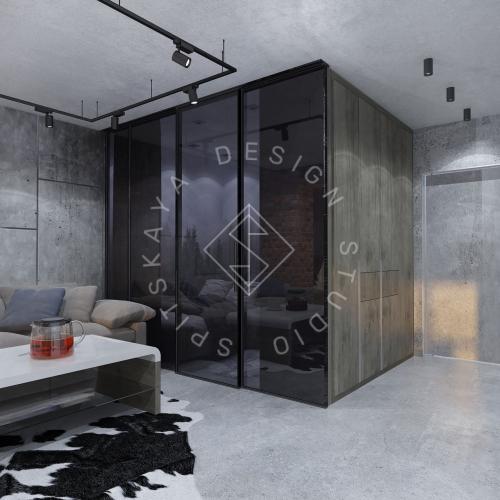 """Дизайн интерьера квартиры в стиле """"LOFT"""" ЖК """"RIVER PARK"""" - 8"""