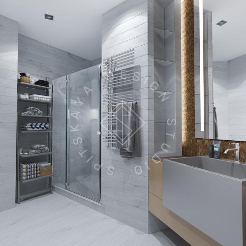 Дизайн интерьера квартиры в ЖК Чкаловский - 16