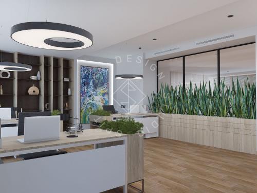 """Дизайн офиса в ЖК """" Бартоломео"""" - 31"""