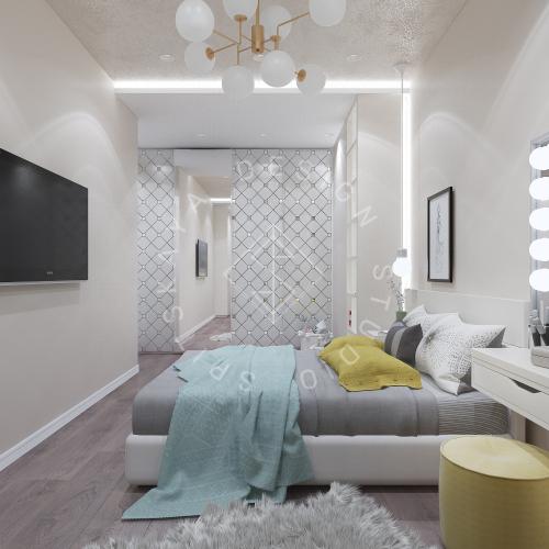 Дизайн интерьера квартиры в ЖК Comfort City Lux - 40