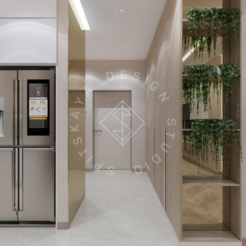 Дизайн квартиры 120 м2 - 5