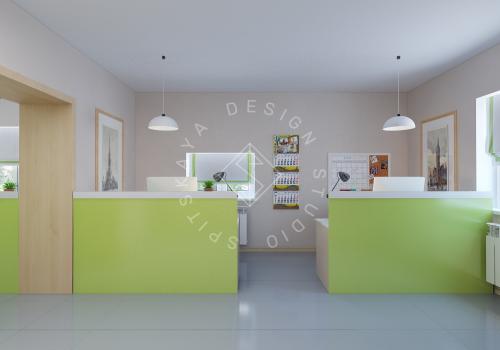 Дизайн офиса компании Восток газ г. Днепр - 5