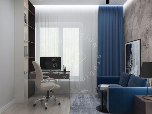 Дизайн интерьера жилого дома г. Днепр - 28