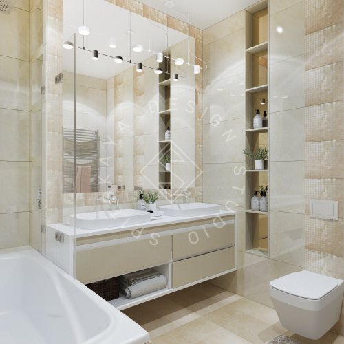 Дизайн квартиры 120 м2 - 19