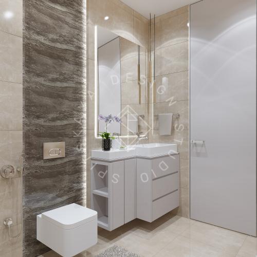 Дизайн квартиры 120 м2 - 25