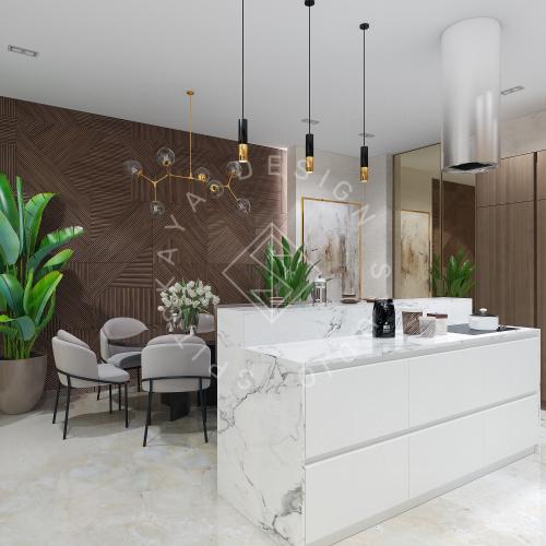 Дизайн интерьера квартиры в ЖК Comfort City Lux - 4