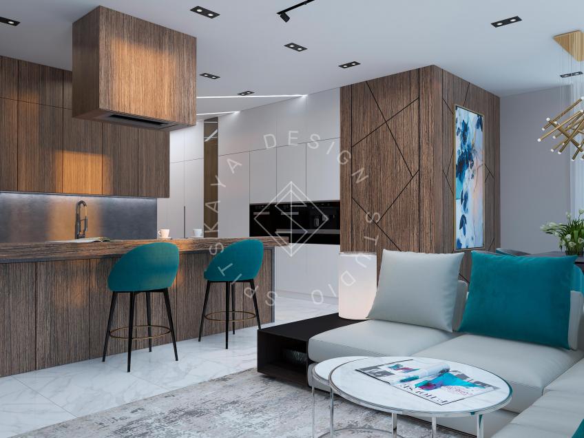 Дизайн квартиры в ЖК Панорама г. Днепр