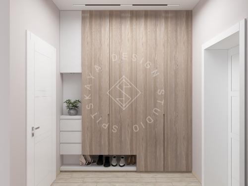 Дизайн интерьера квартиры в ЖК Грани - 3