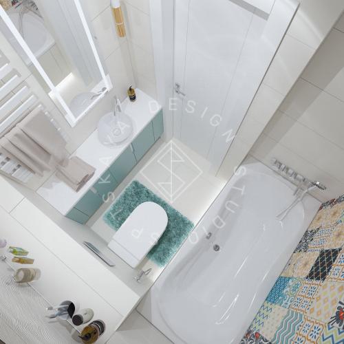 Дизайн проект небольшой квартиры - 20