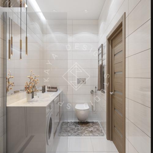 Дизайн интерьера квартиры под сдачу - 10