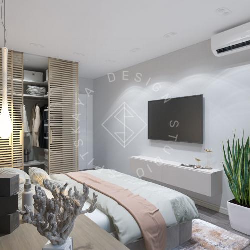Дизайн проект квартиры в ЖК Республика - 15