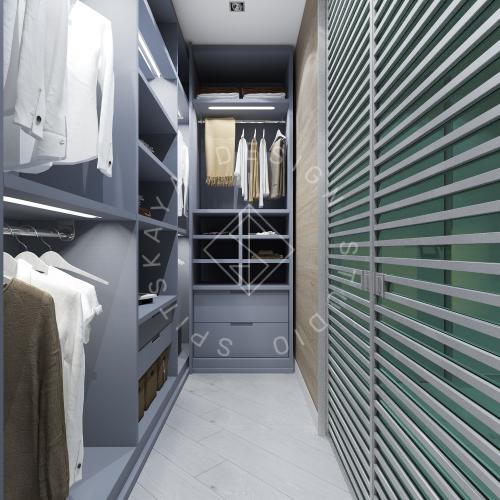 Дизайн интерьера квартиры в ЖК Чкаловский - 13