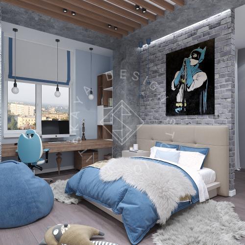 Дизайн интерьера квартиры в ЖК Comfort City Lux - 29