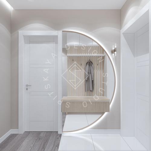 Дизайн проект квартиры в ЖК Республика - 9