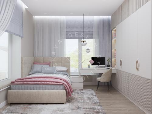 Дизайн интерьера жилого дома г. Днепр - 23