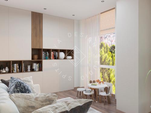 Дизайн квартиры в ЖК Панорама г. Днепр - 24