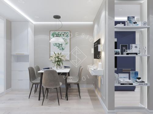 Дизайн проект небольшой квартиры - 2