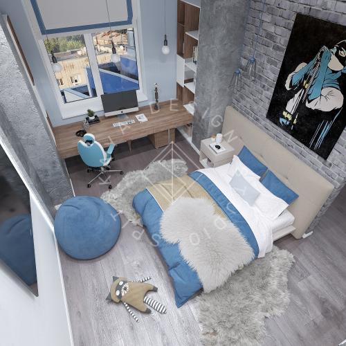 Дизайн интерьера квартиры в ЖК Comfort City Lux - 34