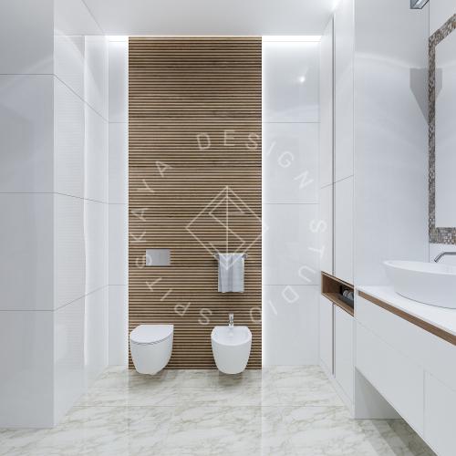 Дизайн интерьера квартиры в ЖК Comfort City Lux - 21