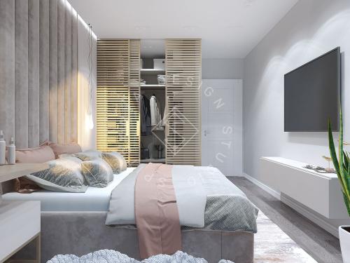 Дизайн проект квартиры в ЖК Республика - 13