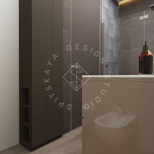 "Дизайн проект квартиры в ЖК ""Bartolomeo Resort Town"" - 25"