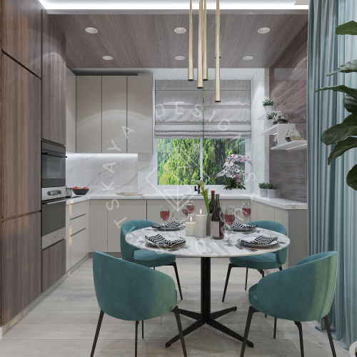 Дизайн квартиры в ЖК Панорама г. Днепр 2019г - 5