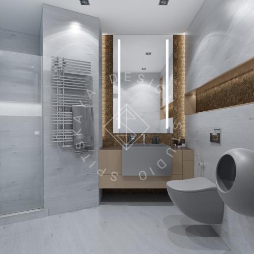 Дизайн интерьера квартиры в ЖК Чкаловский - 14