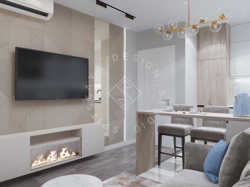 Дизайн проект квартиры в ЖК Республика - 7