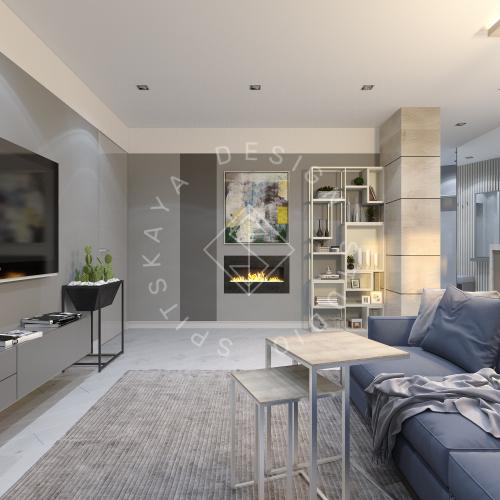 Дизайн интерьера квартиры в ЖК Чкаловский - 5