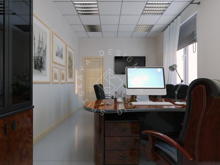 Дизайн офиса компании Восток газ г. Днепр