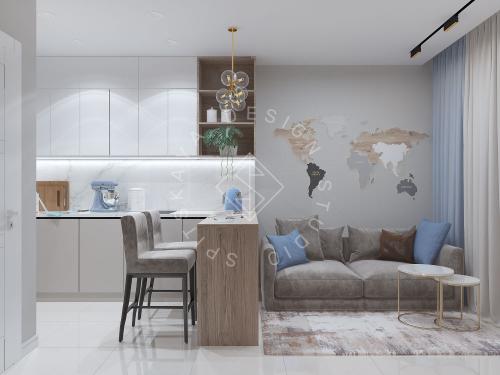 Дизайн проект квартиры в ЖК Республика - 4