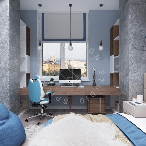 Дизайн интерьера квартиры в ЖК Comfort City Lux - 32
