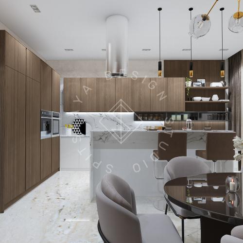 Дизайн интерьера квартиры в ЖК Comfort City Lux - 7