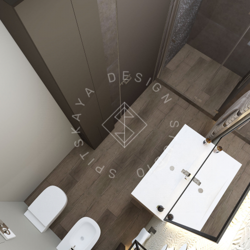 "Дизайн проект квартиры в ЖК ""Bartolomeo Resort Town"" - 24"