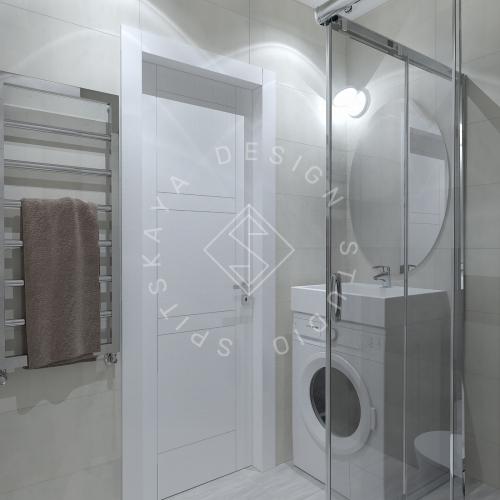 Дизайн однокомнатной квартиры в г. Грузия - 13