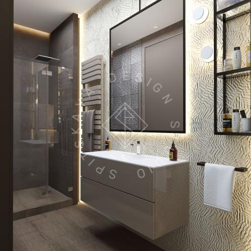 "Дизайн проект квартиры в ЖК ""Bartolomeo Resort Town"" - 22"