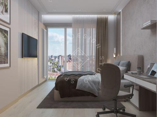 "Дизайн проект квартиры в ЖК ""Bartolomeo Resort Town"" - 35"