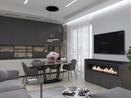 "Дизайн проект квартиры в ЖК ""Bartolomeo Resort Town"" - 11"