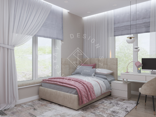 Дизайн интерьера жилого дома г. Днепр - 20