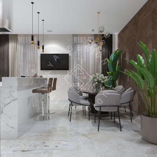 Дизайн интерьера квартиры в ЖК Comfort City Lux - 2