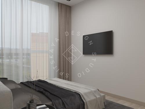 Дизайн интерьера квартиры в ЖК Грани - 20