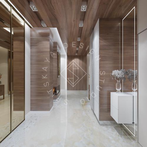 Дизайн интерьера квартиры в ЖК Comfort City Lux - 12