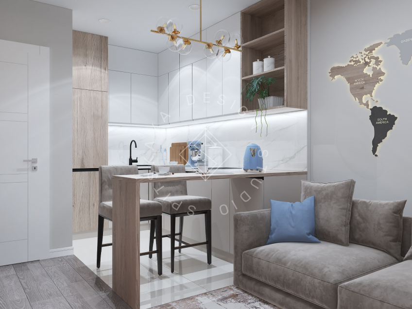 Дизайн проект квартиры в ЖК Республика