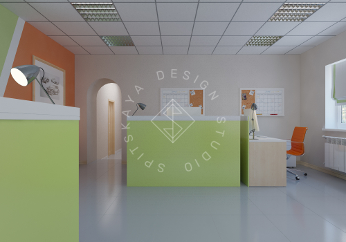 Дизайн офиса компании Восток газ г. Днепр - 9
