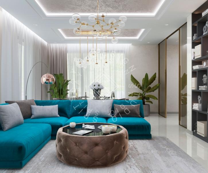 Дизайн проект интерьера жилого дома