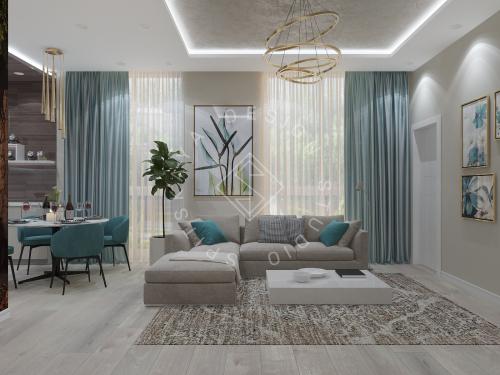 Дизайн квартиры в ЖК Панорама г. Днепр 2019г - 2