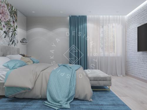 Дизайн проект небольшой квартиры - 13